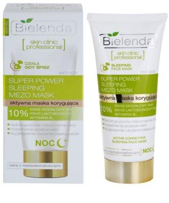 Bielenda Skin Clinic Professional Correcting máscara de noite para pele com imperfeições 1