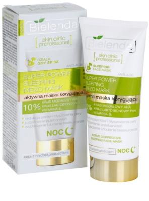 Bielenda Skin Clinic Professional Correcting Masca de noapte pentru pielea cu imperfectiuni 2