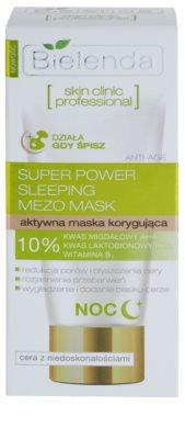 Bielenda Skin Clinic Professional Correcting Masca de noapte pentru pielea cu imperfectiuni 3