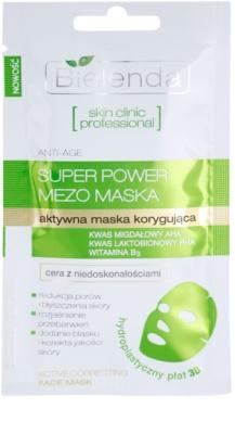 Bielenda Skin Clinic Professional Correcting maska iz platna proti nepravilnostim na aknasti koži