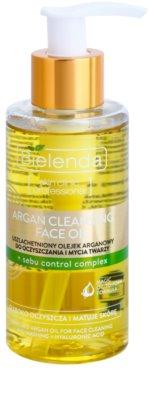 Bielenda Skin Clinic Professional Correcting Óleo Argan de limpeza  para pele oleosa