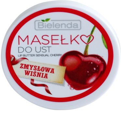 Bielenda Sensual Cherry pflegende Butter für die Lippen 1