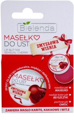 Bielenda Sensual Cherry pflegende Butter für die Lippen 2
