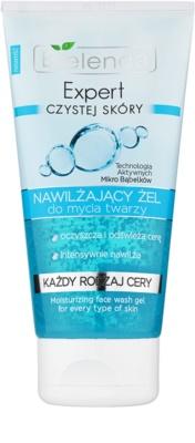 Bielenda Expert Pure Skin Moisturizing gel za umivanje obraza z vlažilnim učinkom
