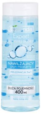 Bielenda Expert Pure Skin Moisturizing Mizellar-Reinigungswasser 3 in1