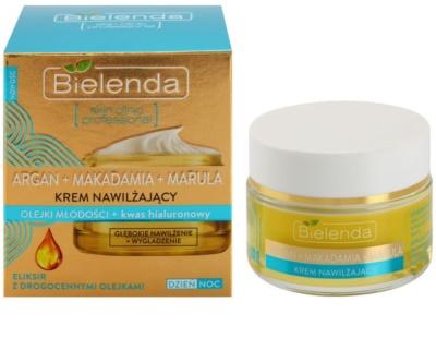 Bielenda Skin Clinic Professional Moisturizing tiefenwirksame feuchtigkeitsspendende Creme mit glättender Wirkung 1