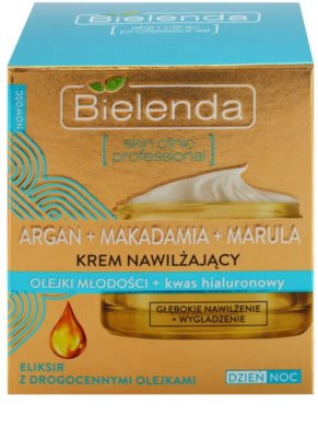 Bielenda Skin Clinic Professional Moisturizing tiefenwirksame feuchtigkeitsspendende Creme mit glättender Wirkung 2
