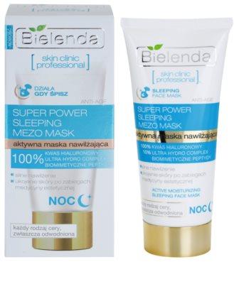 Bielenda Skin Clinic Professional Moisturizing noční hydratační maska pro suchou pleť 1