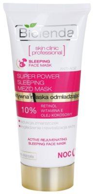 Bielenda Skin Clinic Professional Rejuvenating maseczka na noc o działaniu odmładzającym