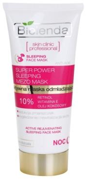 Bielenda Skin Clinic Professional Rejuvenating maska za spanje s pomlajevalnim učinkom