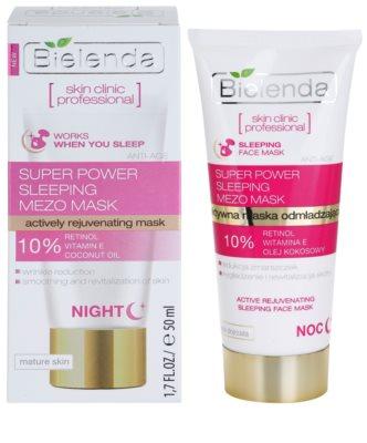 Bielenda Skin Clinic Professional Rejuvenating maseczka na noc o działaniu odmładzającym 1