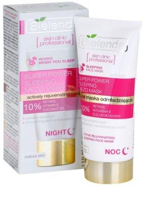 Bielenda Skin Clinic Professional Rejuvenating maseczka na noc o działaniu odmładzającym 2