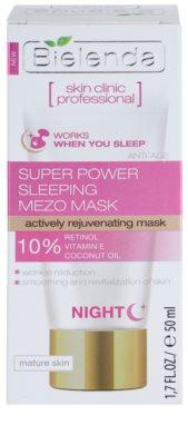 Bielenda Skin Clinic Professional Rejuvenating maseczka na noc o działaniu odmładzającym 3