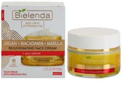 Bielenda Skin Clinic Professional Pro Retinol глибоко відновлюючий нічний крем з омолоджуючим ефектом 1