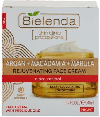 Bielenda Skin Clinic Professional Pro Retinol crema de noapte cu efect profund reparator cu  efect de intinerire 2