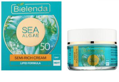 Bielenda Sea Algae Semi-Rich crema hranitoare anti-rid 50+ 1