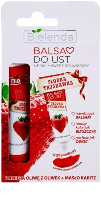 Bielenda Sweet Strawberry bálsamo de lábios 1