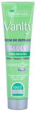 Bielenda Vanity Aloe depilační krém pro citlivou pokožku