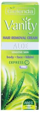 Bielenda Vanity Aloe Enthaarungscreme für empfindliche Oberhaut 2