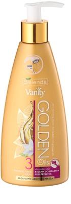 Bielenda Vanity Golden Oils vyživující sprchový balzám na holení