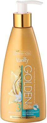 Bielenda Vanity Golden Oils Balsam hidratant pentru epilare