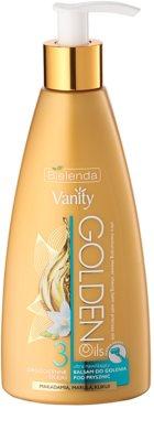 Bielenda Vanity Golden Oils feuchtigkeitsspendendes Duschbalsam zum Rasieren