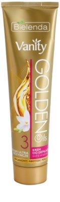 Bielenda Vanity Golden Oils depilacijska krema za občutljivo kožo