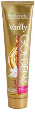 Bielenda Vanity Golden Oils Enthaarungscreme für empfindliche Oberhaut