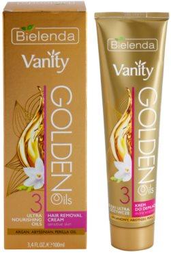 Bielenda Vanity Golden Oils Enthaarungscreme für empfindliche Oberhaut 2