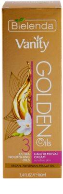 Bielenda Vanity Golden Oils Enthaarungscreme für empfindliche Oberhaut 3