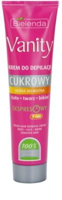 Bielenda Vanity Sugar crema depilatoare pentru piele sensibila
