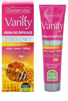 Bielenda Vanity Sugar Enthaarungscreme für empfindliche Oberhaut 2