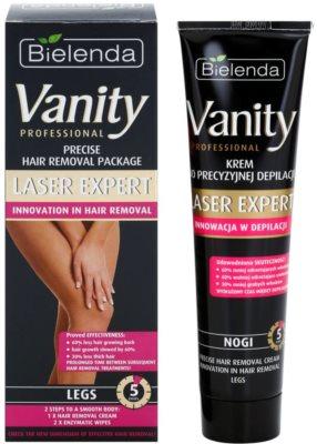 Bielenda Vanity Laser Expert crema depilatoare pentru picioare