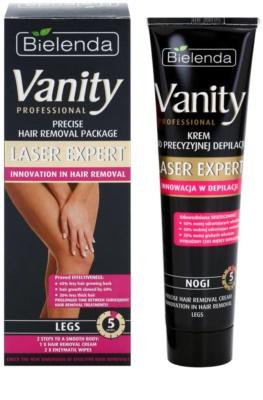 Bielenda Vanity Laser Expert creme depilatório para pernas