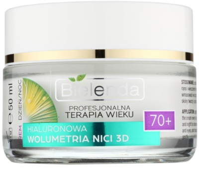 Bielenda Professional Age Therapy Hyaluronic Volumetry NICI 3D crema anti-rid 70+