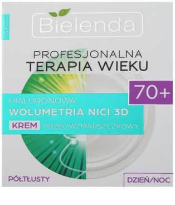 Bielenda Professional Age Therapy Hyaluronic Volumetry NICI 3D protivráskový krém 70+ 2