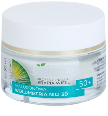 Bielenda Professional Age Therapy Hyaluronic Volumetry NICI 3D crema anti-rid 50+
