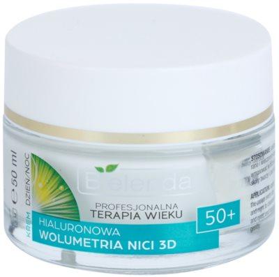 Bielenda Professional Age Therapy Hyaluronic Volumetry NICI 3D creme antirrugas 50+