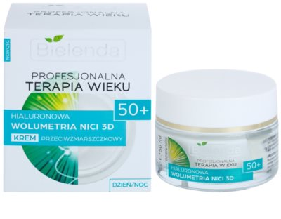 Bielenda Professional Age Therapy Hyaluronic Volumetry NICI 3D crema anti-rid 50+ 1