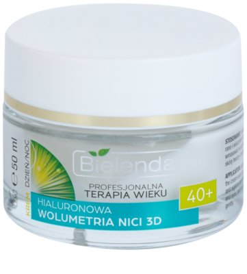 Bielenda Professional Age Therapy Hyaluronic Volumetry NICI 3D крем проти зморшок 40+