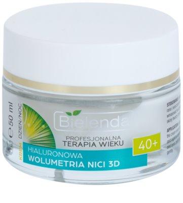 Bielenda Professional Age Therapy Hyaluronic Volumetry NICI 3D creme antirrugas 40+