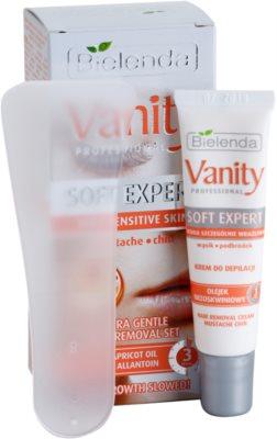 Bielenda Vanity Soft Expert crema depilatoare fata 1