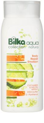 Bilka Aqua Natura regeneráló test emulzió hidratáló hatással