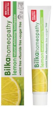 Bilka Homeopathy bleichende Zahnpasta 1