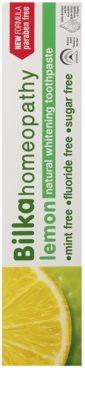 Bilka Homeopathy bleichende Zahnpasta 2
