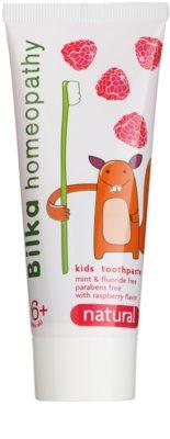 Bilka Homeopathy Natural pasta de dientes para niños