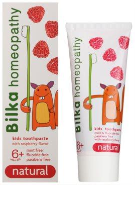 Bilka Homeopathy Natural dentífrico infantil 1