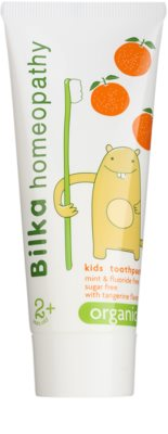 Bilka Homeopathy Organic pasta de dientes para niños