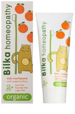 Bilka Homeopathy Organic Kinderzahnpasta 1
