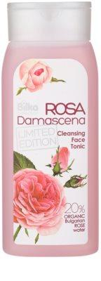 Bilka Rosa Damascena tónico limpiador para rostro con agua de rosas